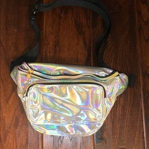 Handbags - Holographic Fanny Pack